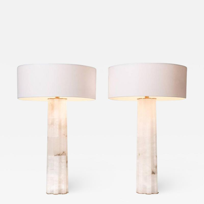 Herv van der Straeten Herv Van Der Straeten Pair of Table Lamps
