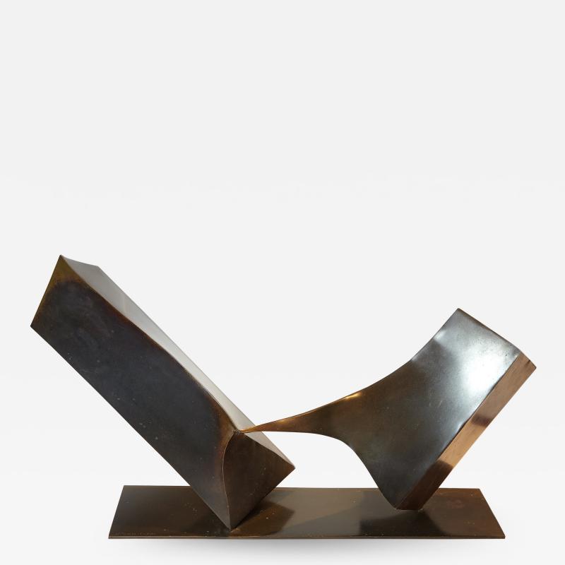 Homer Gunn Abstract Bronze by Homer Gunn