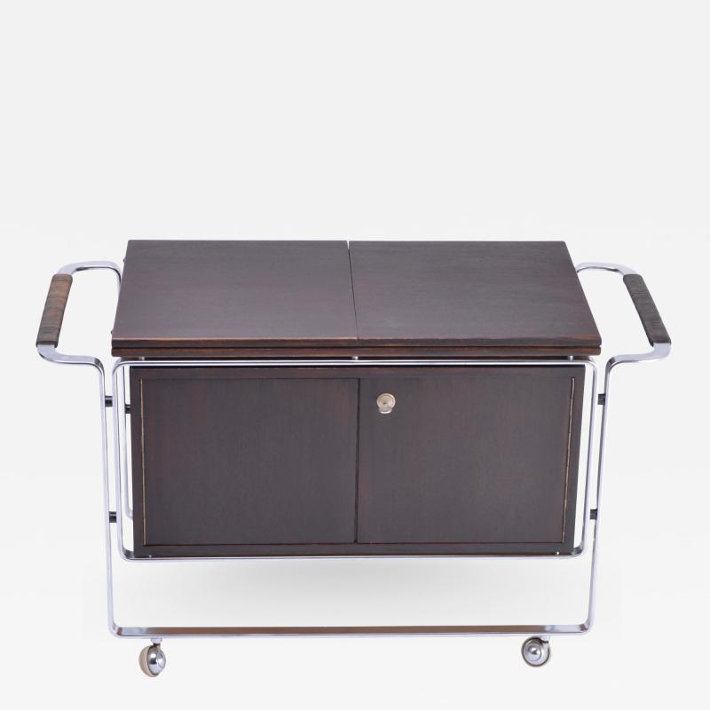 Horst Bruning Rare bar cart designed by Horst Br ning for Kill International
