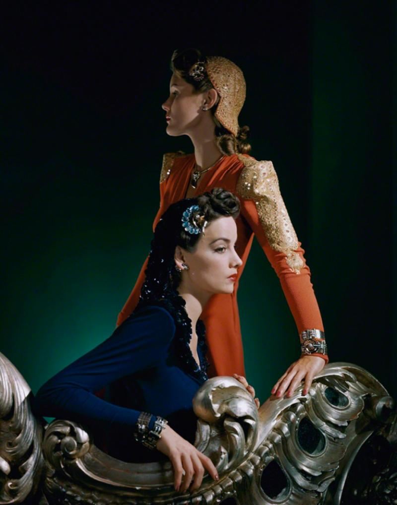 Horst P Horst Ensembles by Nettie Rosenstein Jewelry by Tiffany Co 1940 1940