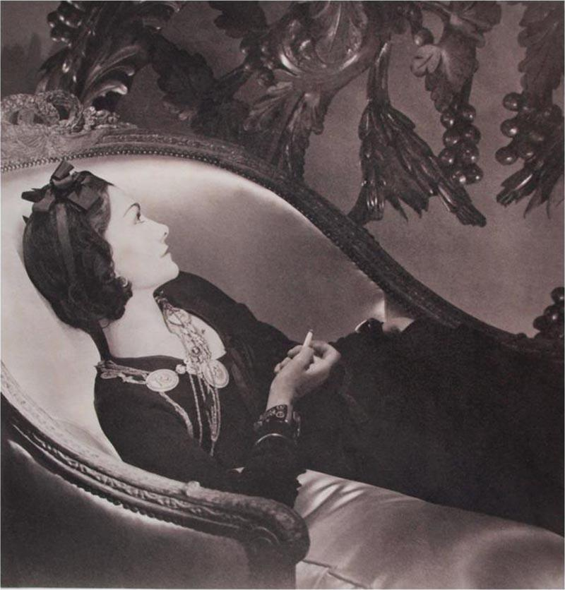 Horst P Horst Gabrielle Coco Chanel