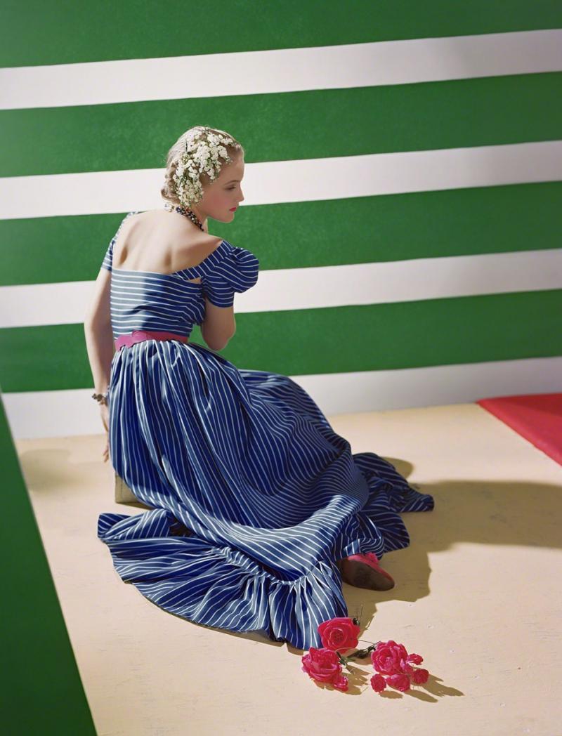 Horst p Horst Dress by Hattie Carnegie 1939