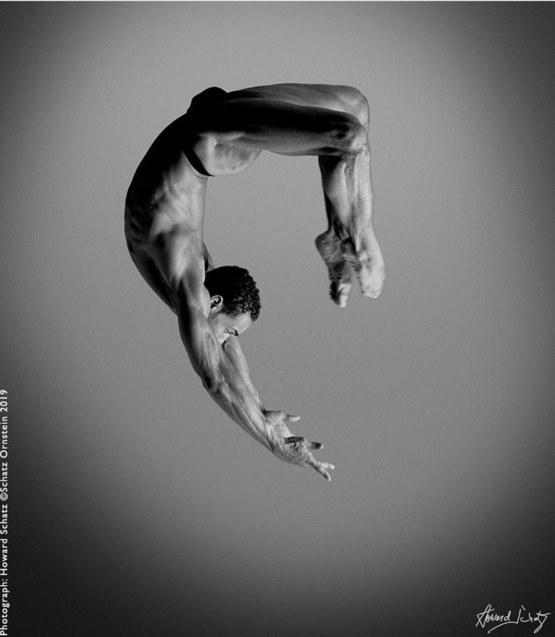 Howard Schatz Dance Study 1207 Alvin Ailey American Dance Theatre Richard Witter
