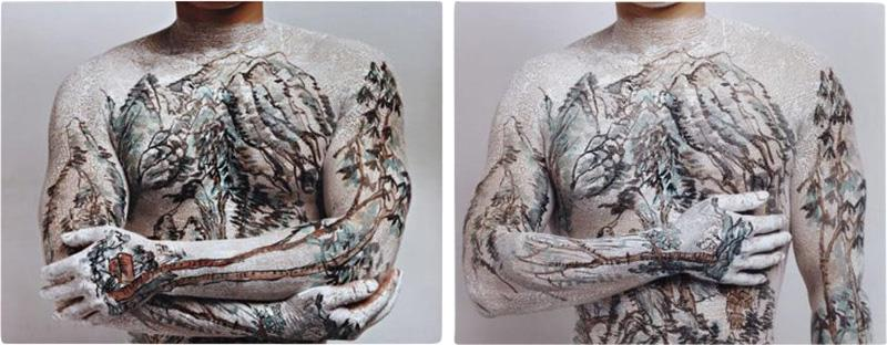 Huang Yan Huang Yan Body Landscape Photographies