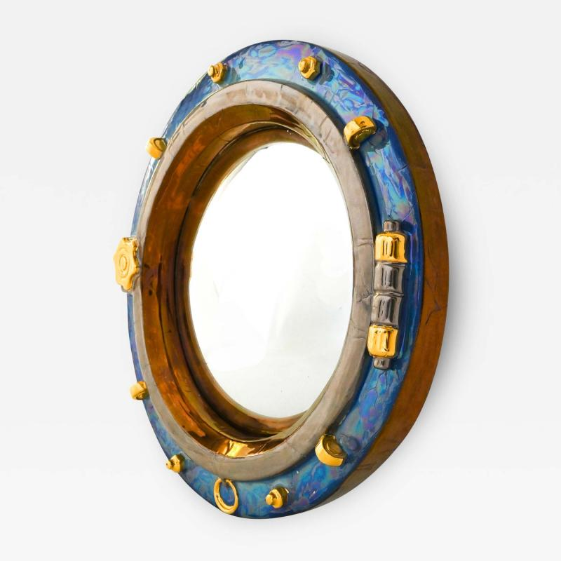 Hublot convex mirror by Renaud Lembo