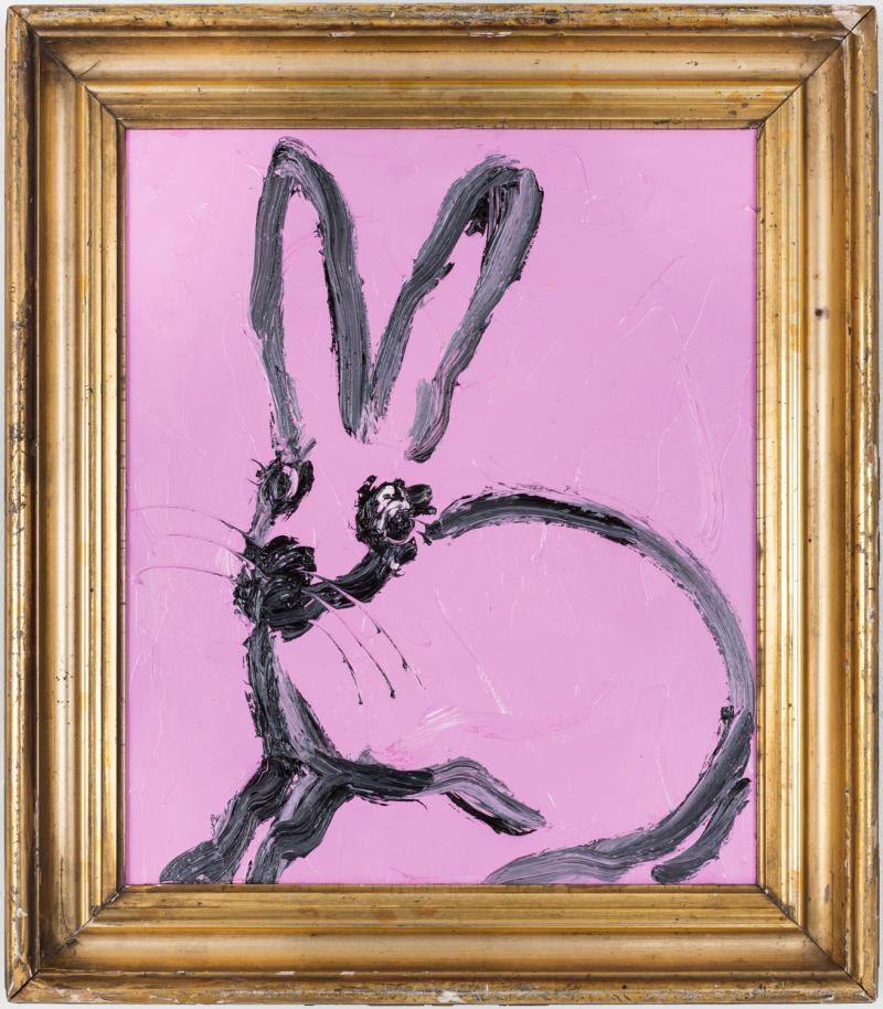 Hunt Slonem Pink Bunny EL00132