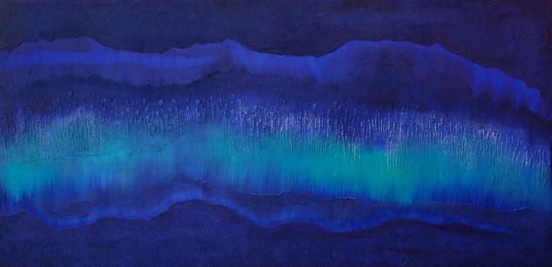 Hyun Ae Kang Abstract painting by Hyun Ae Kang EOS II