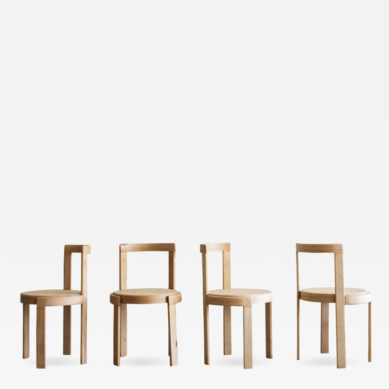 ITALIAN BENTWOOD CANED CHAIRS