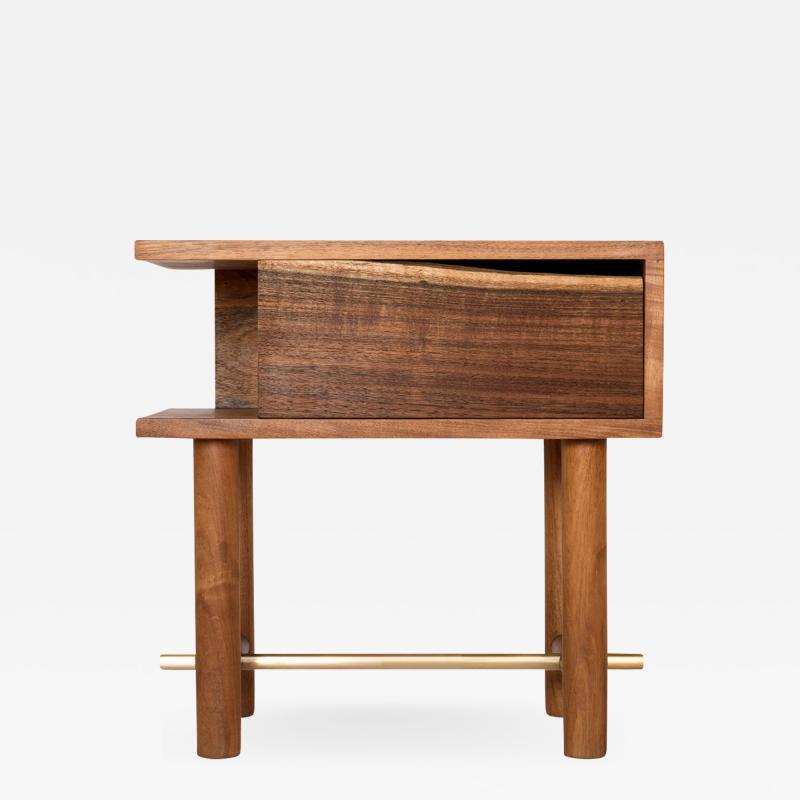 ITZ Mayan Wood Furniture Ocum Nightstand