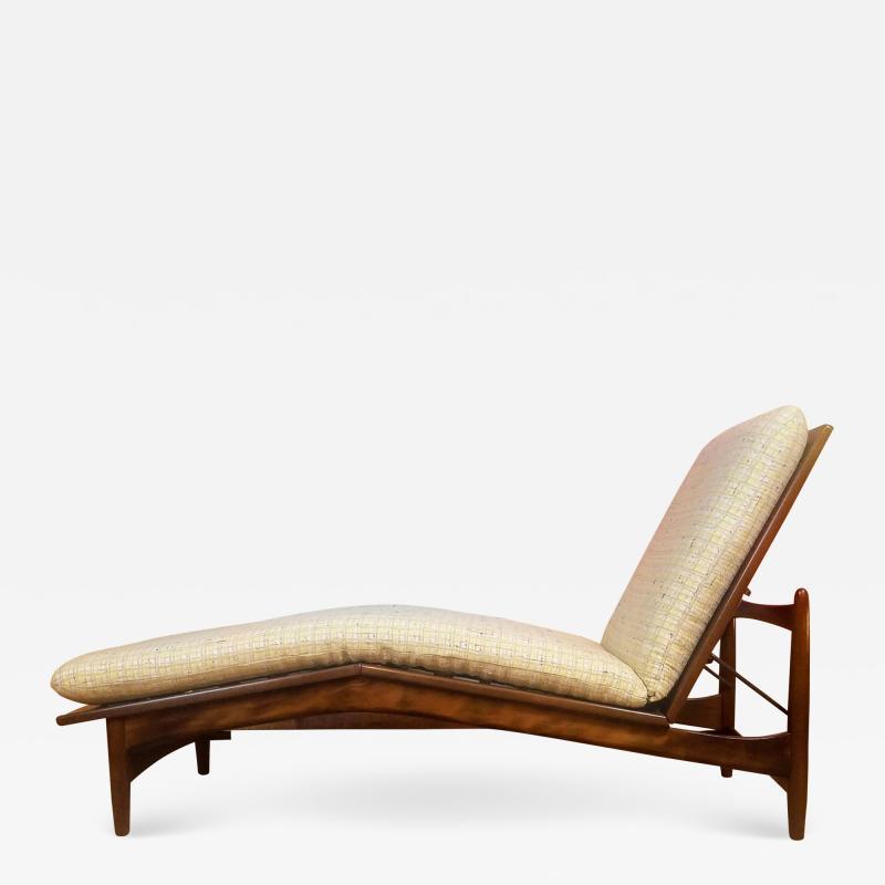 Ib Kofod Larsen Ib Kofod Adjustable Chaise Lounge Denmark