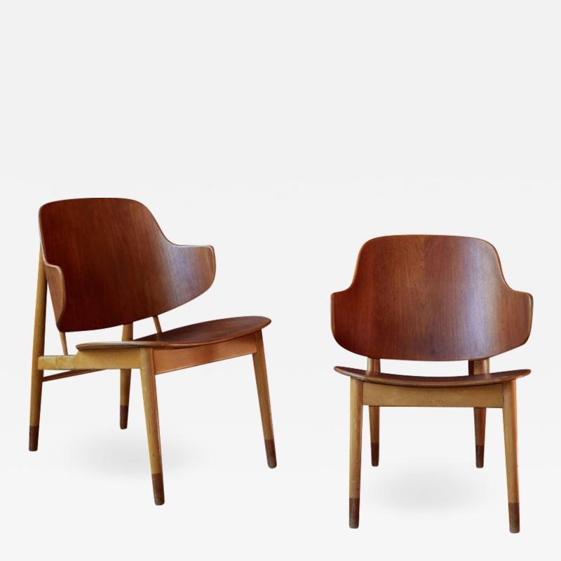 Ib Kofod Larsen Ib Kofod Larsen Chairs for Christiansen Larsen