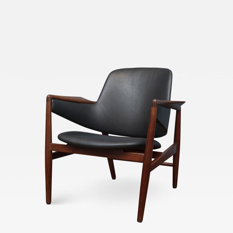Ib Kofod Larsen Ib Kofod Larsen Lounge Chair for Christensen Larsen