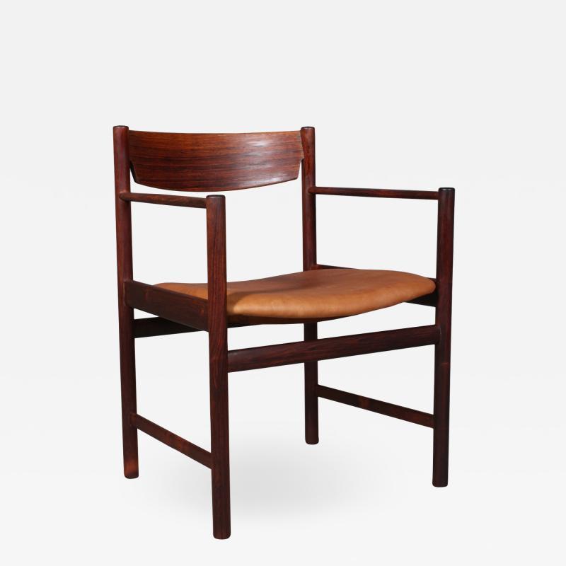 Ib Kofod Larsen Ib Kofod Larsen Rosewood armchair