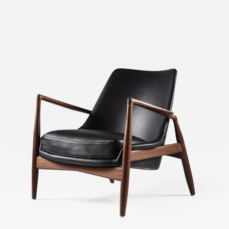 Ib Kofod Larsen Mid Century Scandinavian Lounge Chair Seal Chair by Ib Kofod Larsen