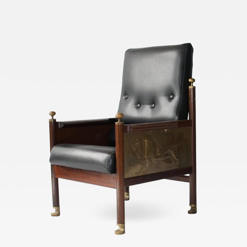 Ib Kofod Larsen Rare Chair Designed by Ib Kofod Larsen