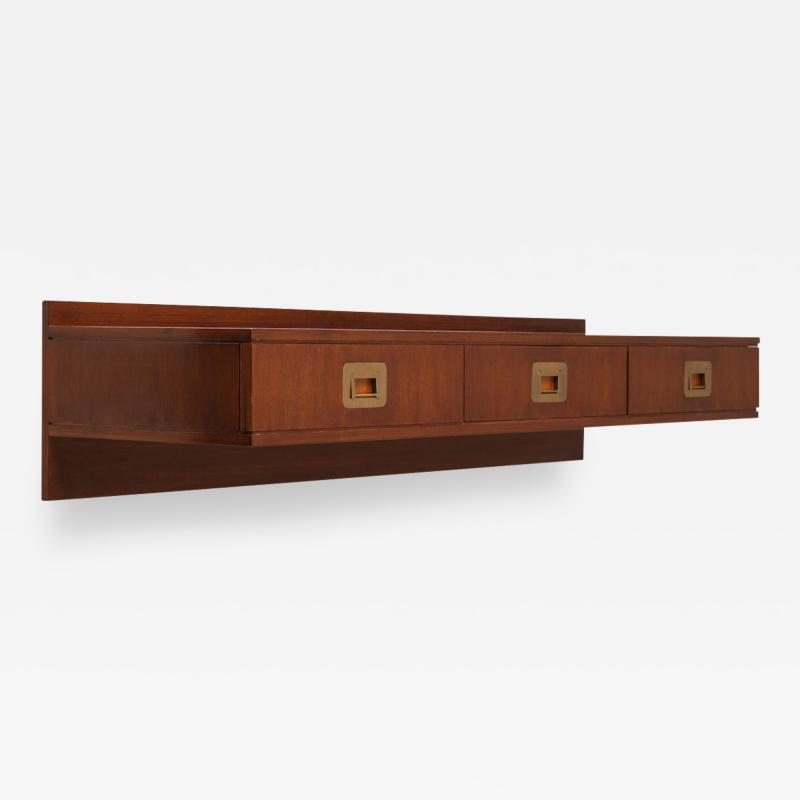 Ico Parisi Custom Wall Mounted Console by Ico Parisi