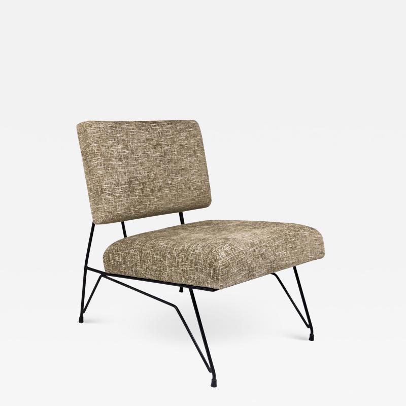 Ico Parisi Ico Parisi Slipper Chair France circa 1950