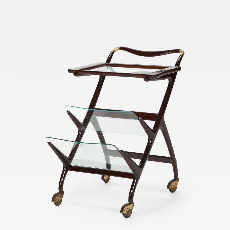 Ico Parisi Ico Parisi bar cart serving trolley 50s