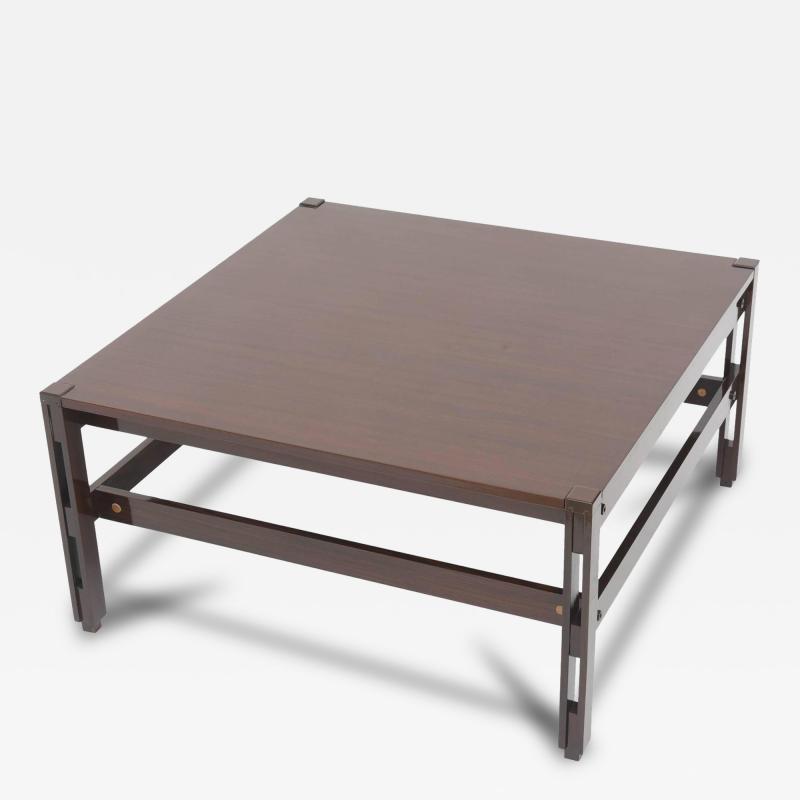 Ico Parisi Italian Modern Palisander Low Table Ico Parisi for MIM