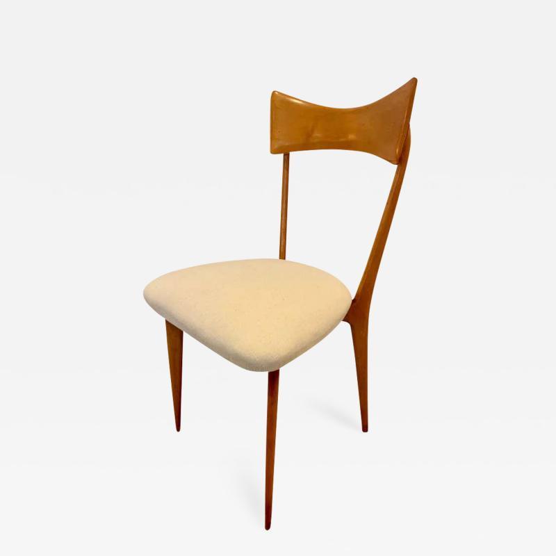 Ico Parisi Set of 4 Ico Parisi Bow Tie Dining Chairs Italian