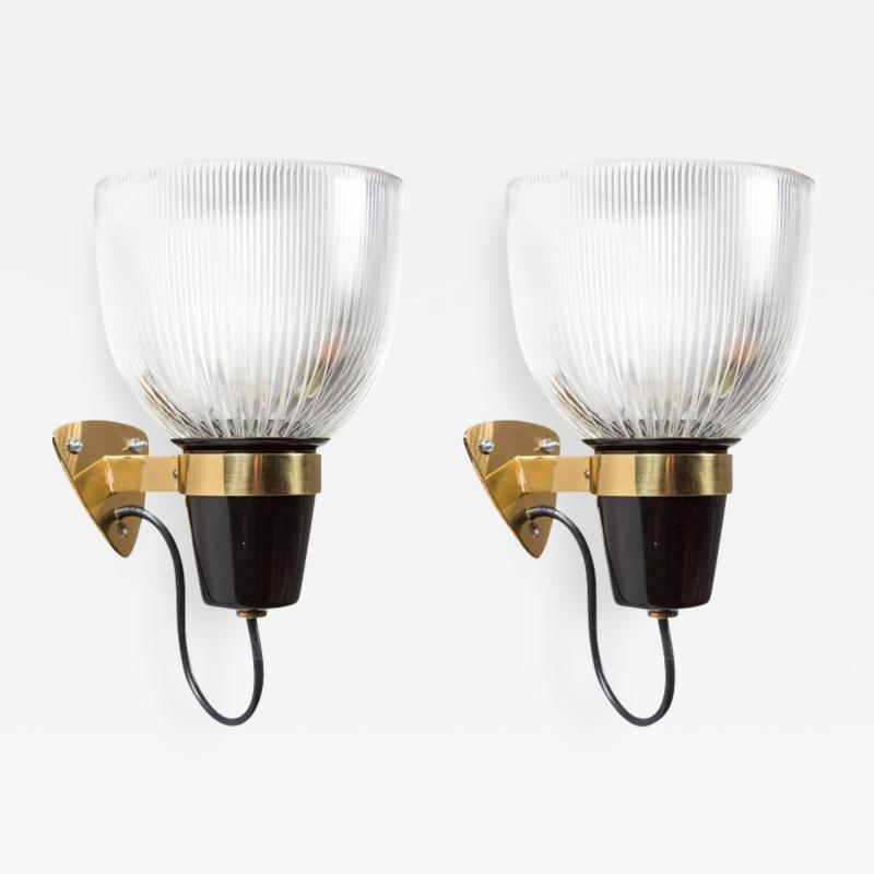 Ignazio Gardella Pair of 1950s Ignazio Gardella LP5 Sconces for Azucena