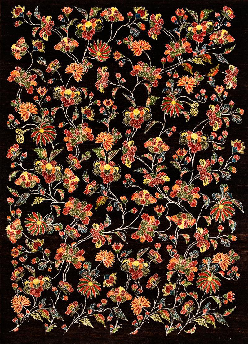 Ikebana 9b Kyoto Collection Zollanvari Studio Super Fine Gabbeh