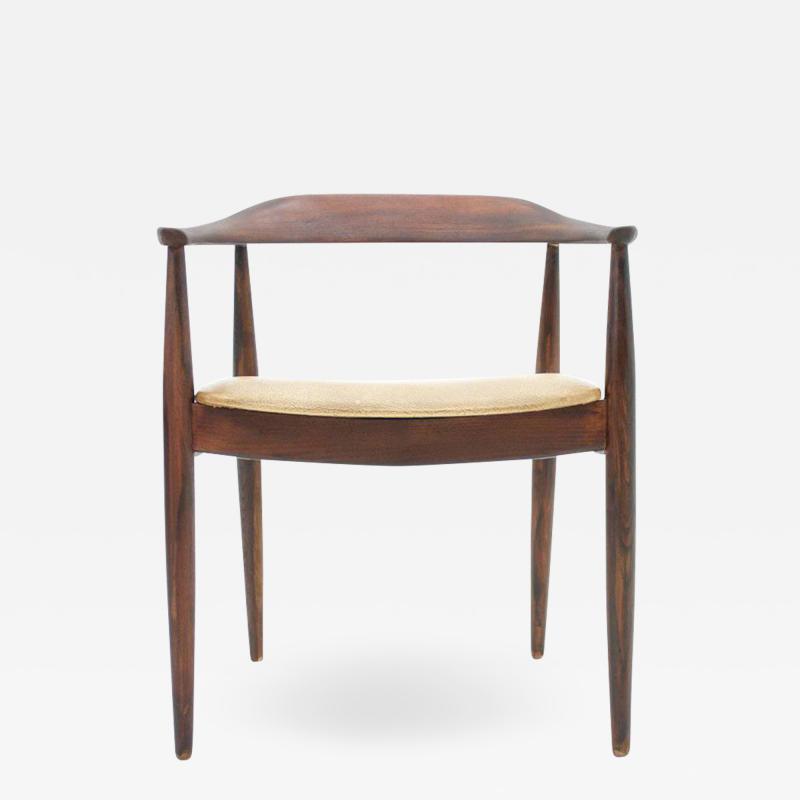 Illum Wikkels Armchair for Niels Eilersen Denmark 1960s