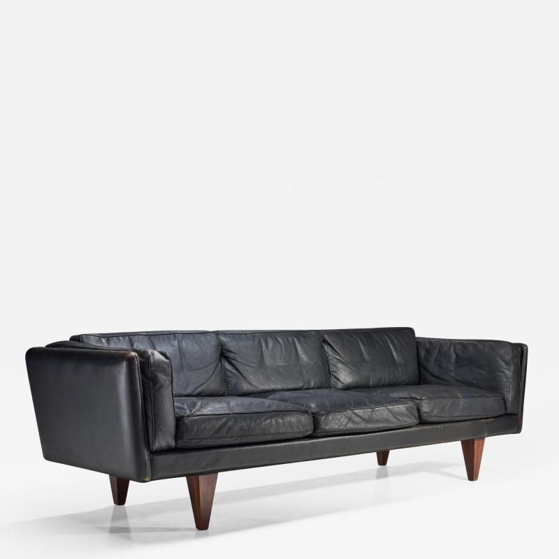 Illum Wikkels Illum Wikkels Model V11 Sofa for Holger Christiansen Denmark 1960s