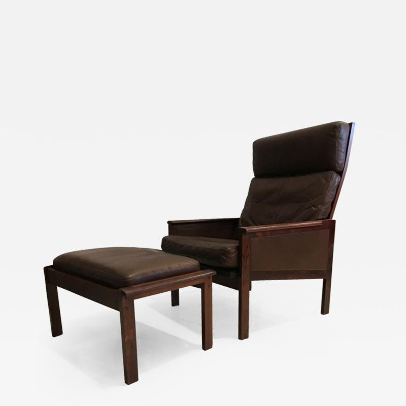 Illum Wikkels Illum Wikkelso lounge chair and ottoman