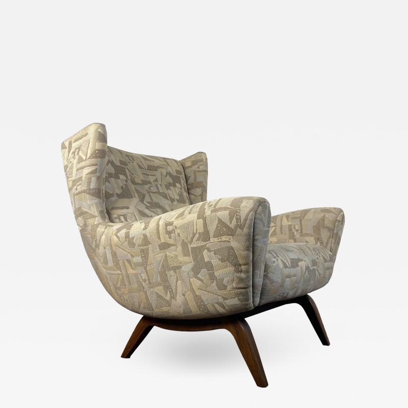 Illum Wikkels Vintage Illum Wikkelso Sculptural Lounge Chair