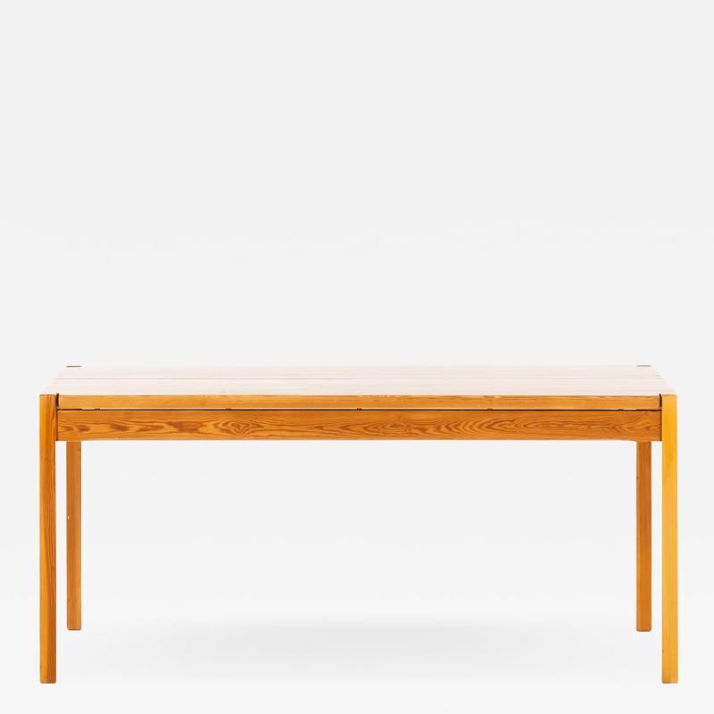Ilmari Tapiovaara Desk Dining Table Produced by Laukaan Puu