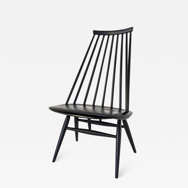 Ilmari Tapiovaara MADEMOISELLE Black Chair by Ilmari Tapiovaara for Artek First Edition 1959