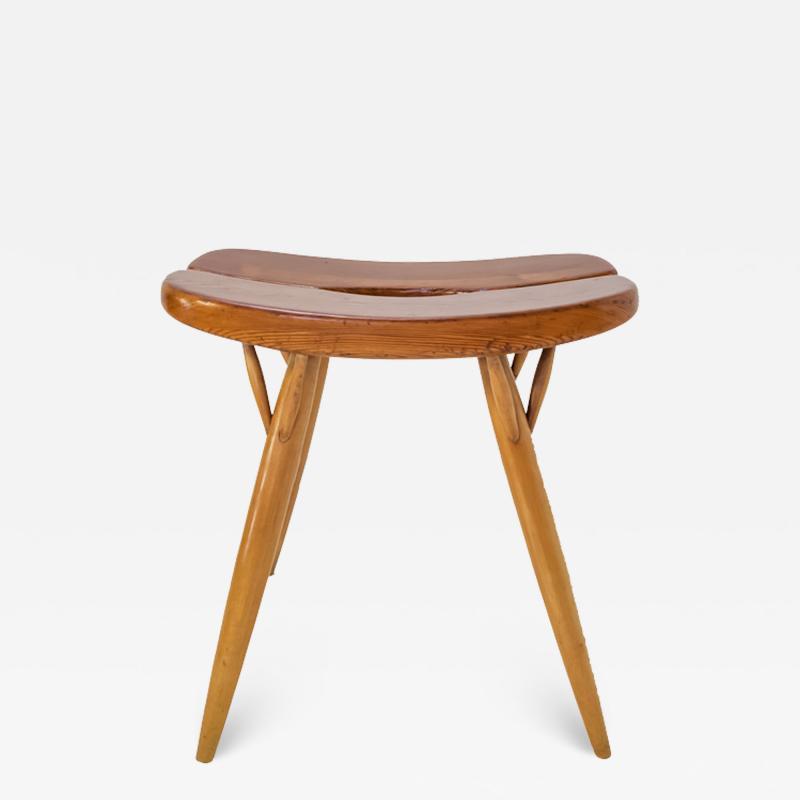 Ilmari Tapiovaara Pirkaa stool for laukaan puu by Ilmari Tapiovaara
