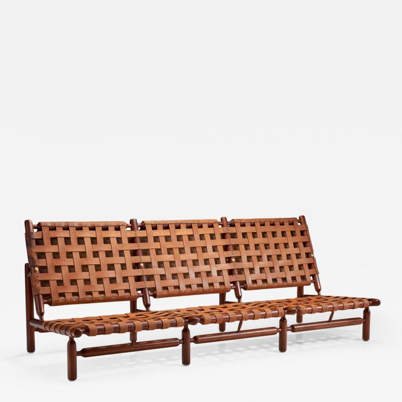 Ilmari Tapiovaara Three Seater Sofa by Ilmari Tapiovaara for Paolo Arnaboldi Italy 1957
