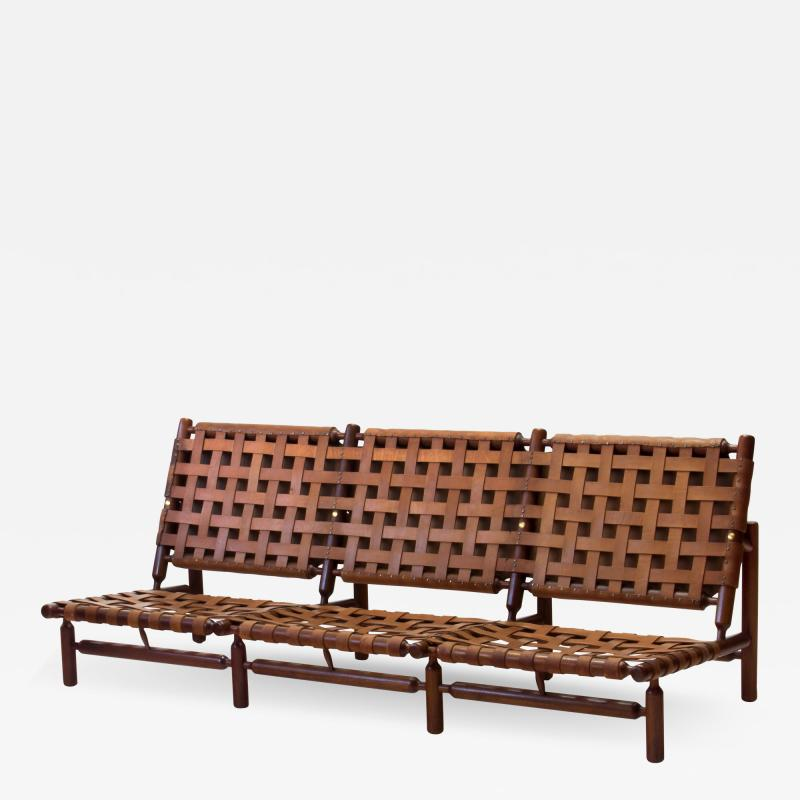 Ilmari Tapiovaara Three seater sofa by Ilmari Tapiovaara for La Permanente Mobili Cant 1957