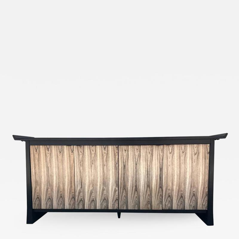 Impressive Two Tone Asian Flair Sideboard by Bernhardt