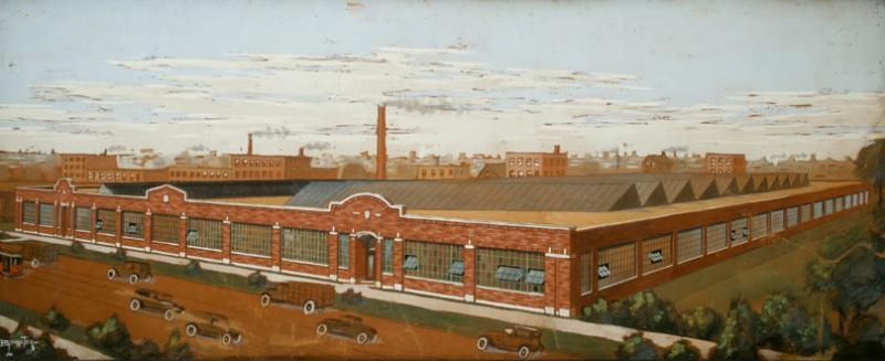 Industrial Factory Landscape