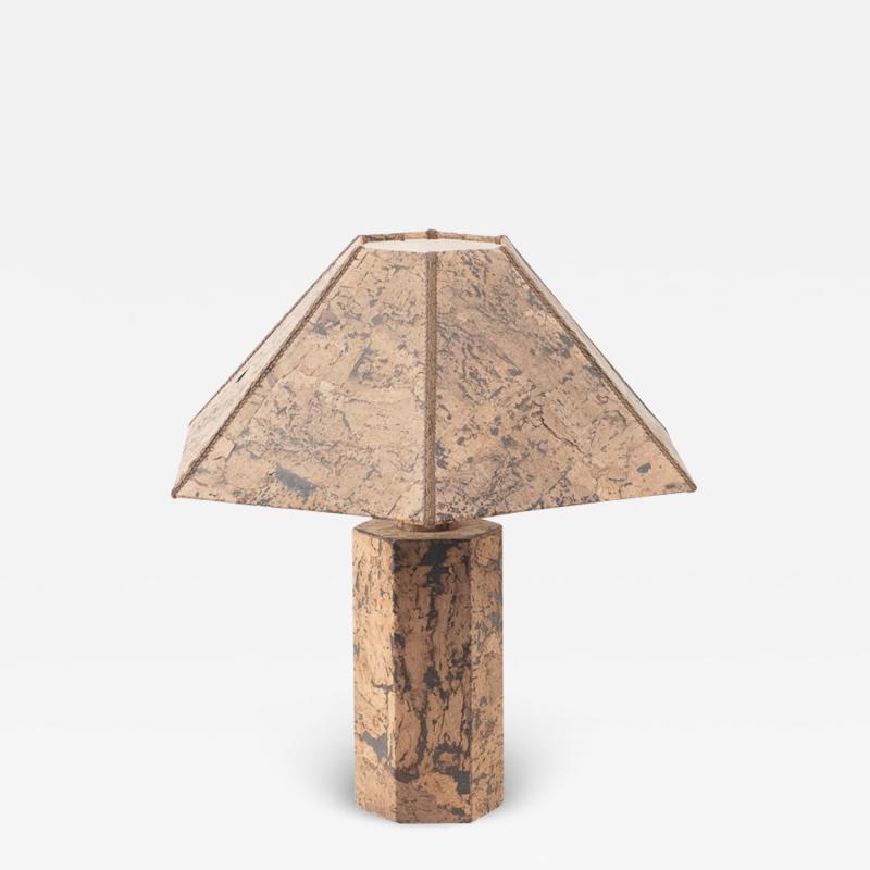 Ingo Mauer style cork lamp Unknown c1974