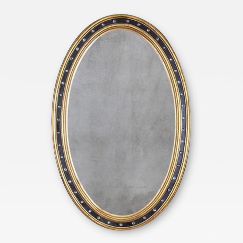 Irish George III Oval Mirror