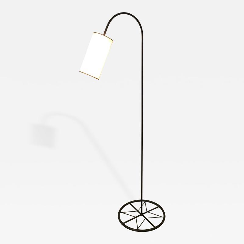 Iron Floor Lamp with Shade
