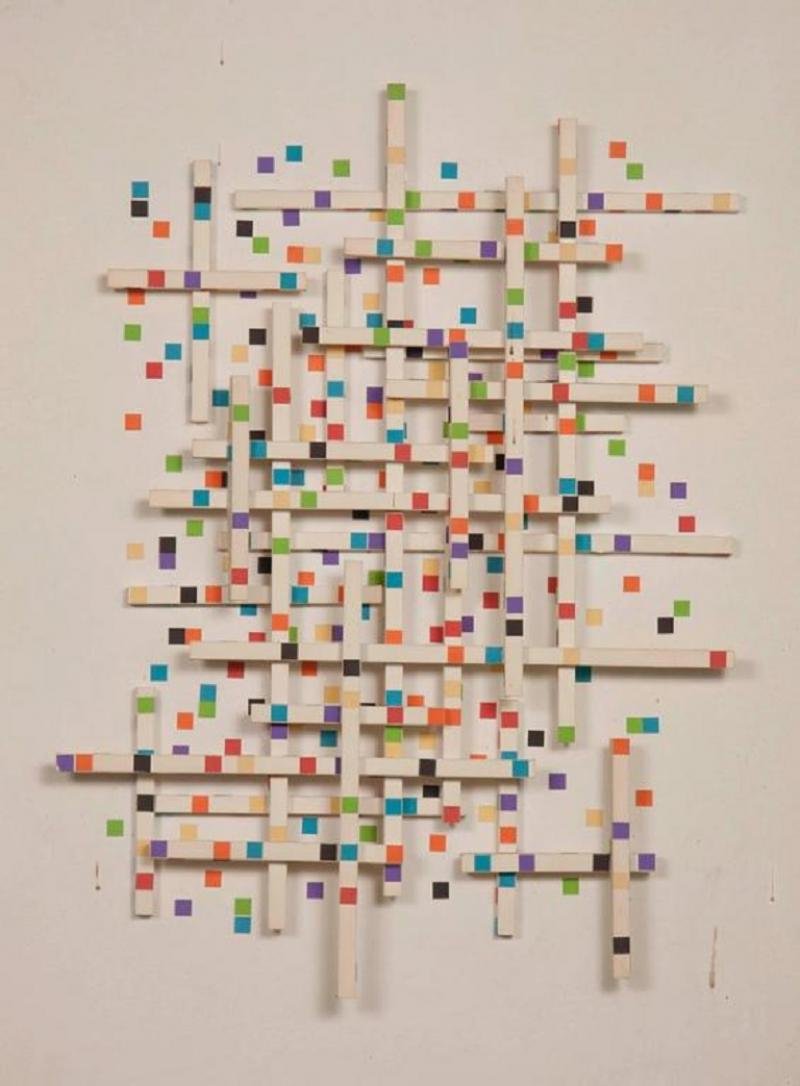 Irving Harper Irving Harper Paper Sculpture Untitled