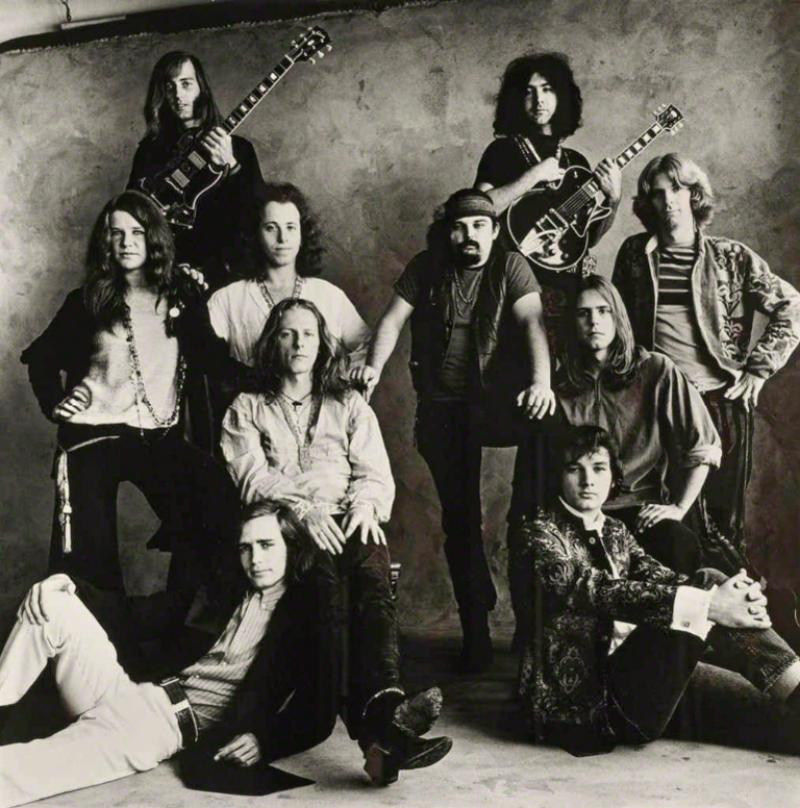 Irving Penn San Francisco Big Brother and the Holding Company and The Grateful Dead 1967