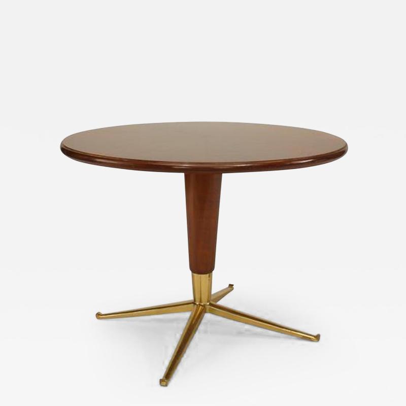 Italian 1940s Round Coffee Table