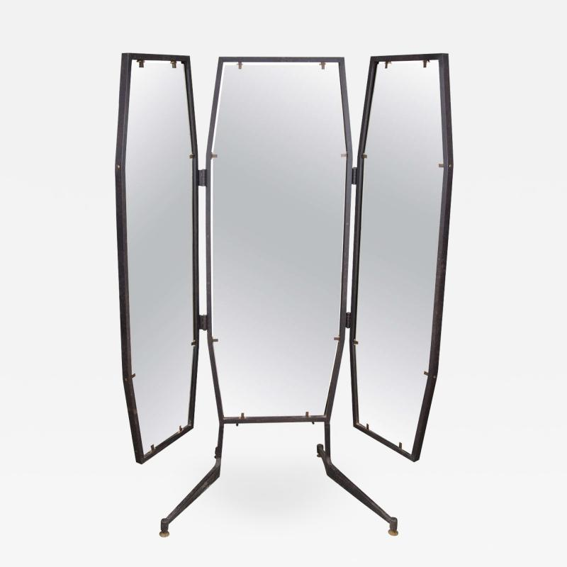 Italian Adjustable Three Way Mirror
