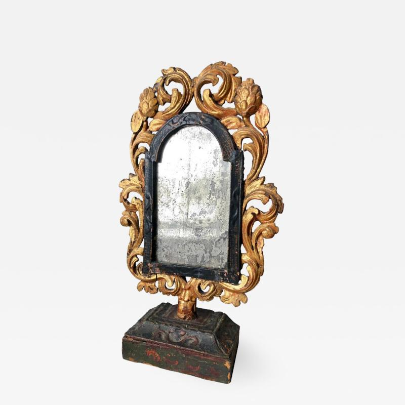 Italian Baroque Table Mirror 17th Century