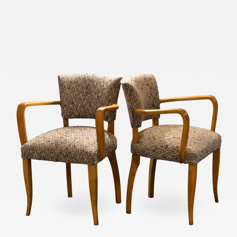 Italian Bridge Chairs 1950s Set of 2