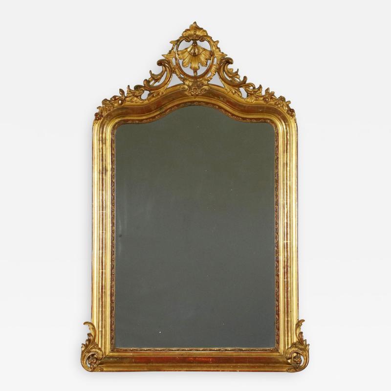 Italian Giltwood Mirror Circa 1810