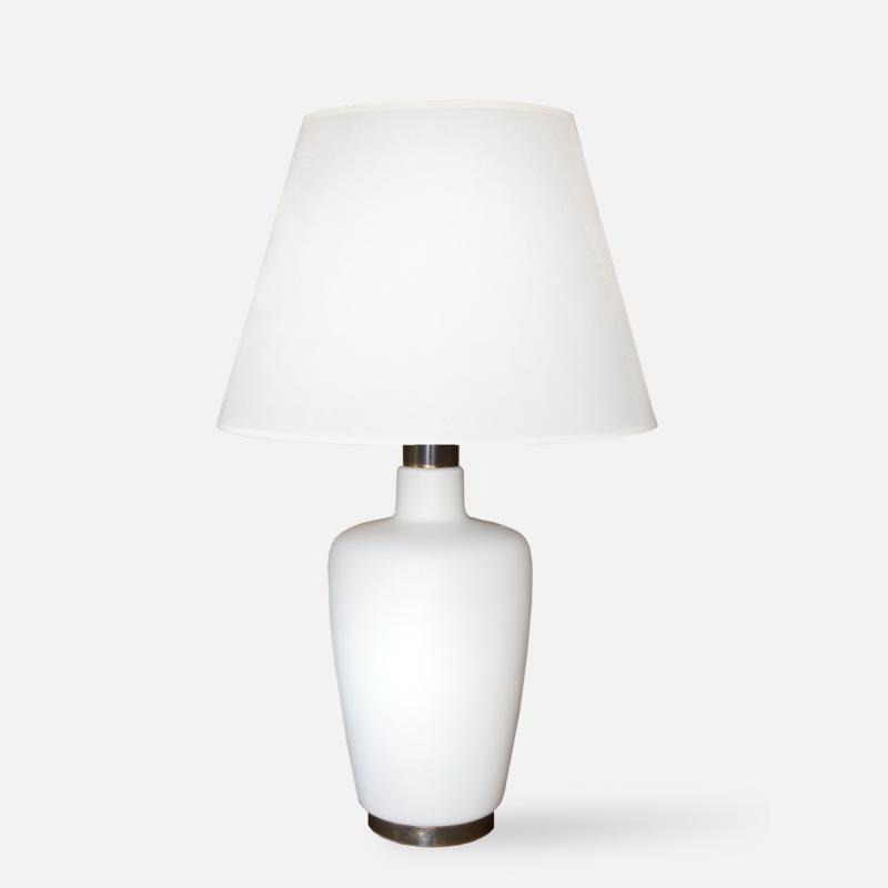 Italian Glass Lamp