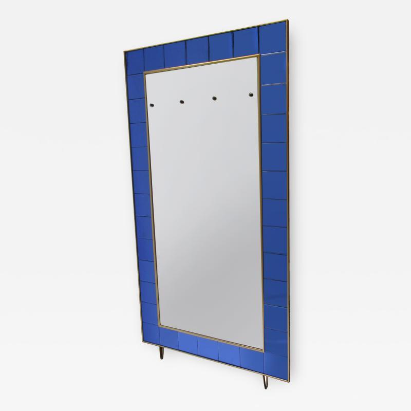 Italian Mid Century Floor Standing Mirror