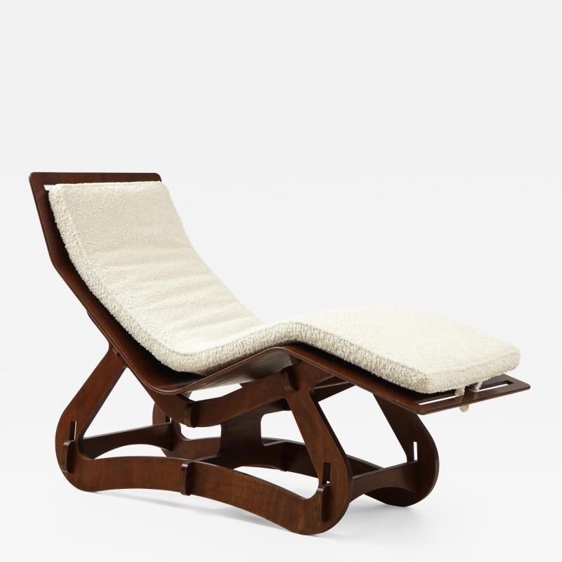 Italian Modernist Chaise Longue
